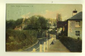 h0108 - Castle Street , Carisbrooke Village , Isle of Wight - postcard