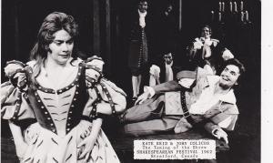 RP: STRATFORD, Ontario, Canada, Taming of the Shrew, Shakespearean Festival 1962