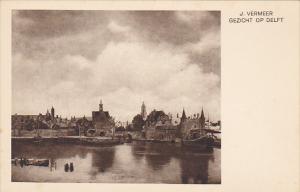 Gezicht Op Delft by J Vermeer Museum Den Haag