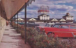 Motel , Quebec Bridge , Quebec 10  , Canada , 1950s