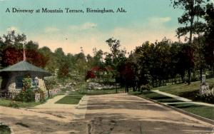 Birmingham, Alabama - A driveway at Mountain Terrace - in 1916