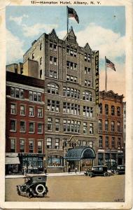 NY - Albany. Hampton Hotel