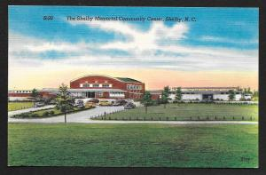 Shelby Memorial Community Center Shelby North Carolina Unused c1930s