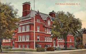 Park School Rutherford, New Jersey Postcard