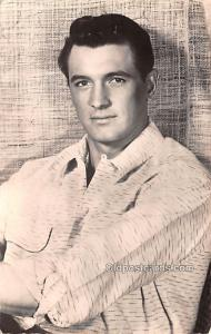Rock Hudson Movie Star Actor Actress Film Star Postcard, Old Vintage Antique ...