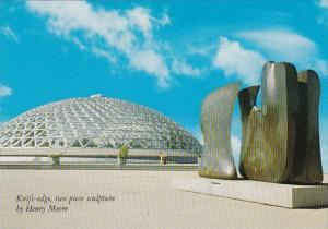 Canada Vancouver Bloedel Conservatory With Knife Edge Sculpture Queen Elizabe...