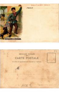 CPA AK ADVERTISING DUCASSE & GUIBAL - Nantes, Biscuit (307981)