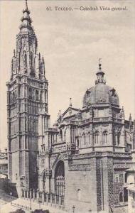 Spain Toledo Catedral Vista general