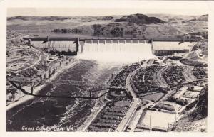 RP; Aerial View, Grand Coulee Dam,  Washington, PU-1944