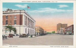 TUSCALOOSA, Alabama, 00-10's ; Broad Street Looking West, Classic Cars, Post Off