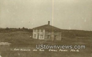 Real Photo, Fort Augusta & Anx in Small Point, Maine