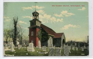 Old Swedes Church Wilmington Delaware 1912 postcard