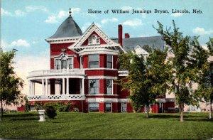 Nebraska Lincoln Home Of William Jennings Bryan