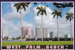 Skyline Of West Palm Beach Florida