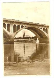 RP; Bridge, Saskatoon, Saskatchewan , Canada, PU-1936