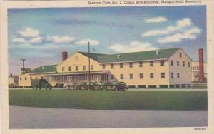 Kentucky Morganfield Service Club No 2 Camp Breckenridge Curteich