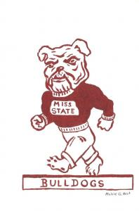 Mississippi Mississippi State Bulldogs By Mable G Hust