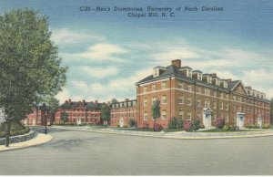 CHAPEL HILL, North Carolina, 30-40s ; Men's Dorms , University