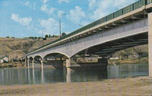 Bridge Crossing The Thompson River, KAMLOOPS, B.C., Canada, 1940-1960s