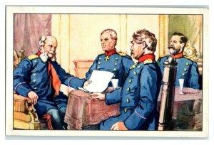 Kaiser Wilhelm Grammar Question, Famous Anecdotes Echte Wagner Trade Card *VT31S