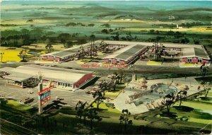 AL, Huntsville, Alabama, Albert Pick Motel, Postmark 1966
