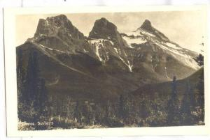 RP, Three Sisters, near Canmore, Alberta, Canada, 1920-1940s