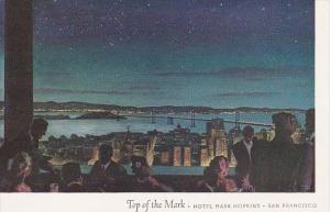 Top Of The Mark Hotel Mark Hopkins San Francisco California