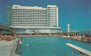 MIAMI BEACH , Florida , 1950-60s ; DEAUVILLE Hotel , Swimming Pool