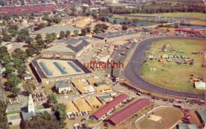 AERIAL VIEW OF EASTERN STATES EXPOSITION, WEST SPRINGFIELD, MA 1956
