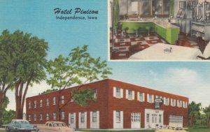 INDEPENDENCE, Iowa, 1930-40s; Hotel Pinicon