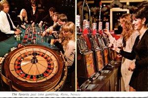 Nevada Reno/Tahoe Gambling Roulette and Slot Machines At Harolds