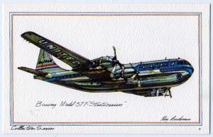 Boeing Model 377- Stratocruiser by Roy Anderson