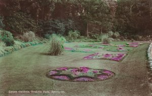 RP; SOUTHPORT, England, PU-1929; Carpet Gardens, Hesketh Park