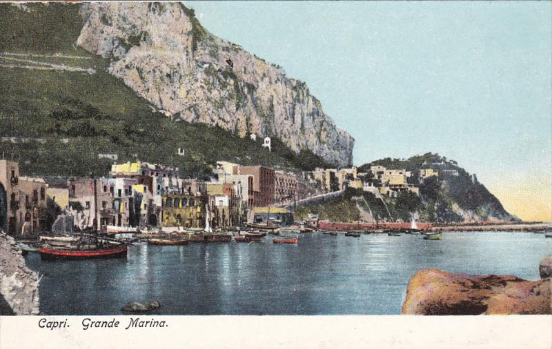 CAPRI, Grande Marina< Naples, Campania, Italy, 00-10s