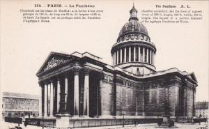 France Paris Le Pantheon et le Rue Soufflot