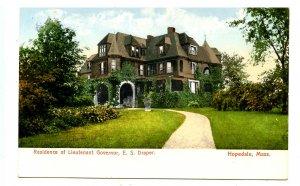 MA - Hopedale. Lt. Governor Eben S. Draper's Residence