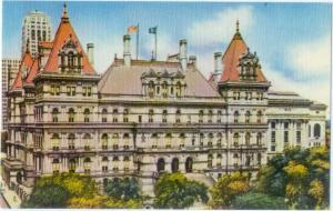 New York State Capitol in Albany NY