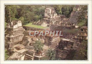 Postcard Modern Guatemala ancient Mayan metropolis