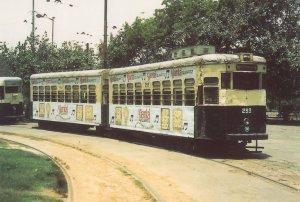 Calcutta 293 Indian Bus Tram Postcard