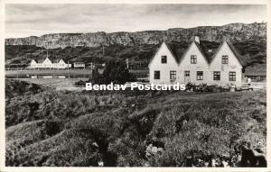 iceland, THINGVELLIR ÞINGVELLIR, Althing Parliament (1950s) RPPC