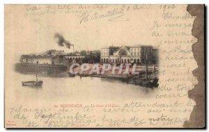 Bordeaux - Gare d & # 39Orleans - Old Postcard