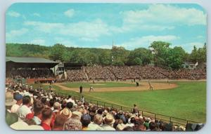 Postcard NY Cooperstown Doubleday Field Annual Baseball Hall of Fame Game N7