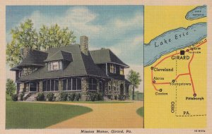 GIRARD, Pennsylvania, 1930-1940's; Mission Manor