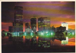 Skyline at Twilight Tampa Florida