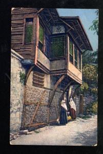 027094 CONSTANTINOPLE Turkish quarter in Istanbul Vintage PC