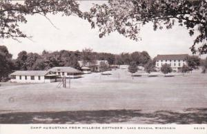 Wisconsin Lake Geneva Camp Augusta From Hillside Cottages