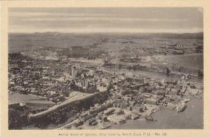 Aerial view of Quebec City looking North East, Quebec, Canada,  00-10s