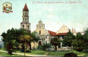 Florida St Augustine St Joseph's Old Spanish Cathedral