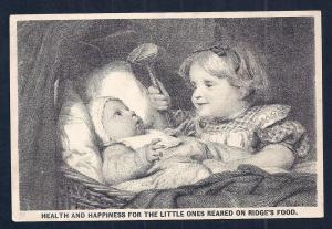 VICTORIAN TRADE CARD Ridge's Food for Infants