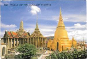 Thailand.  Temple of the Emerald Buddha 2003